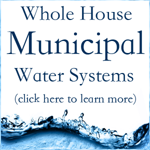 Whole House Municipal Water Systems CuZn