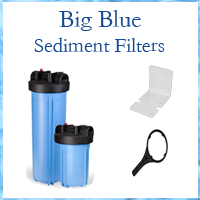 Whole House Pre-Sediment Filters & Replacement Sediment Filters