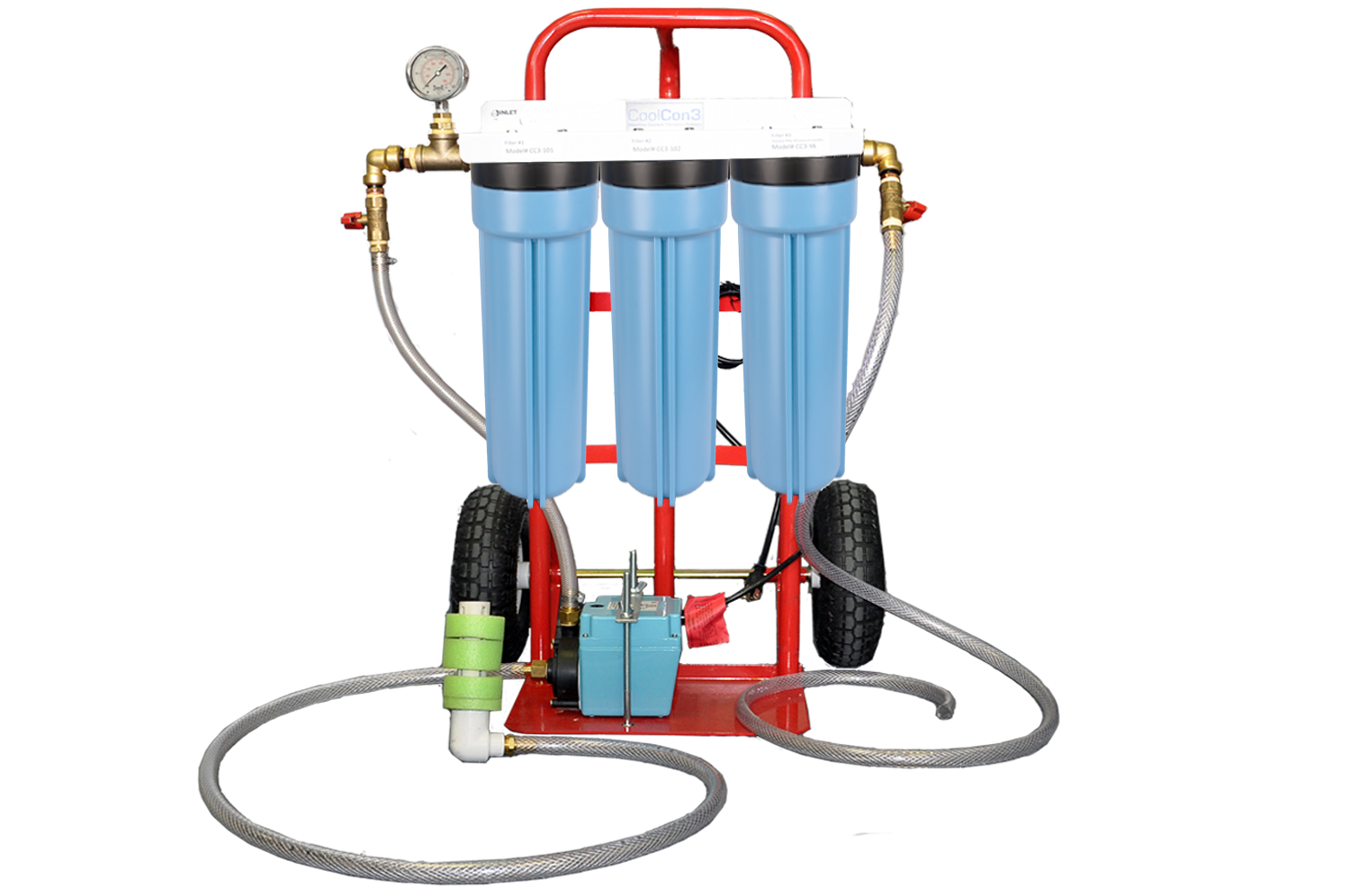 Machine Tool Coolant Systems : Coolcon machine coolant filtration system model cc