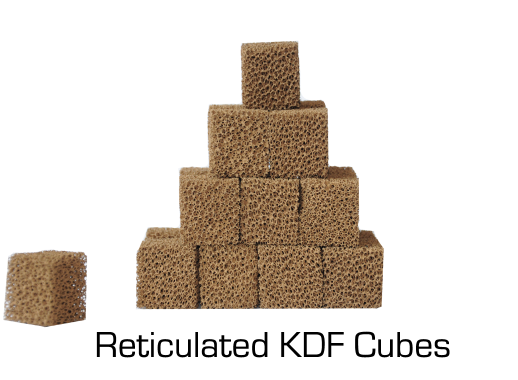 MetalOx Cube Unit Reticulated KDF Cubes