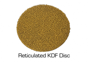 MetalOx Reticulated KDF Disc Technology