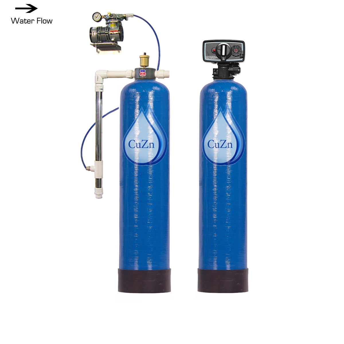 WHWCC-BW-Aeration System for High Iron, Manganese, Methane ...