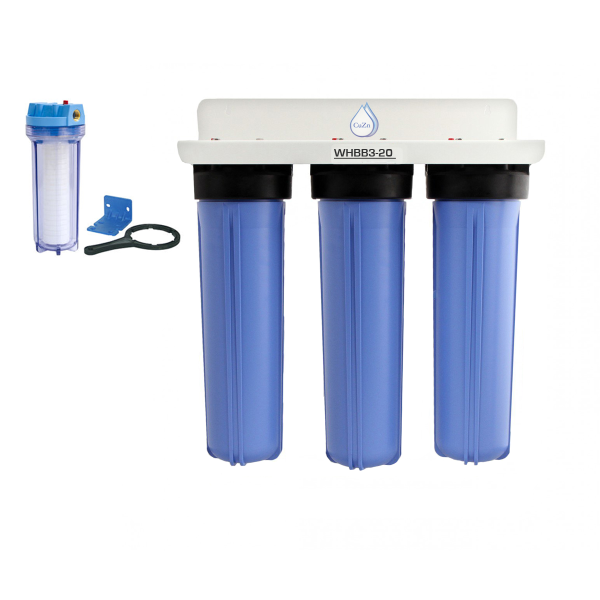 Whbb3 20a Arsenic Well Water Filtration System Cuzn